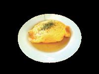 シーフードあんかけオムライス(サラダ付き)